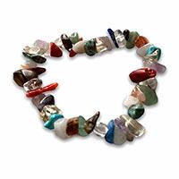 bracelet with multi-gems
