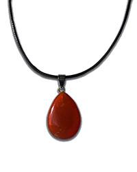 a carnelian necklace
