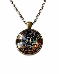 a necklace of cthulha r'lyeh sigil