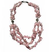 rosq-quartz necklace