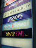 sign of the silverstall in the armada shopping centre