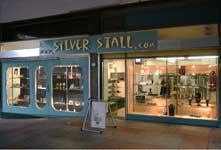 silver jewellery shop of the silverstall in the old drakecircus shopping mall