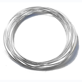 Seven bangles in one silver bangle