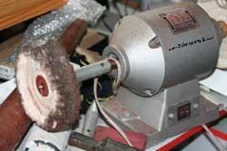 silver polishing rotor