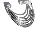 five bangles welded together