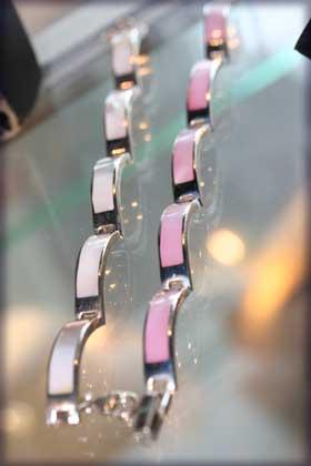 chunky silver bracelet