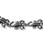 scorpions silver bracelet