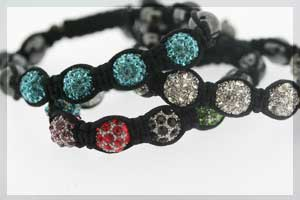 crystal ball bracelets