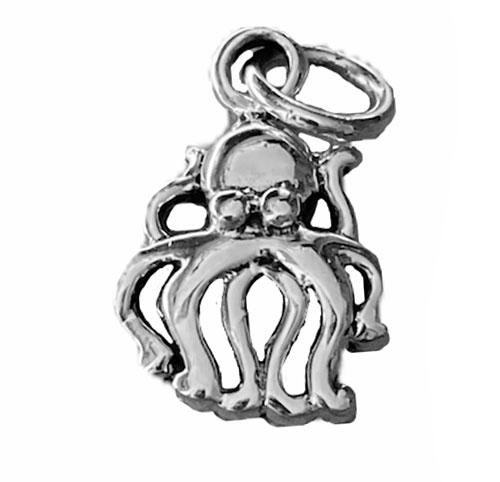 octupus silver charm