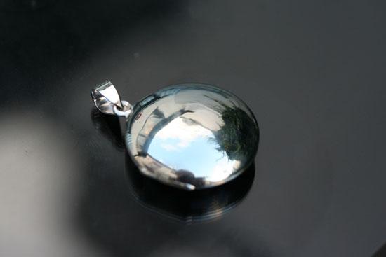 large round locket
