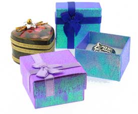 jewellery ring boxes