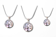 silver necklaces with tree of life