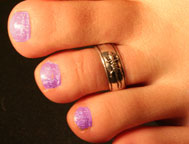 gecco silver toe-ring